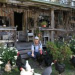 🍅 Esta escritora vive hace 30 años sólo de su Huerta