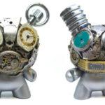 🐰 Delicadas piezas de arte hechas con juguetes de plástico