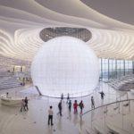 📚 Una creación futurista China para 1 millón de libros