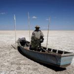 ⚓️ El segundo lago de Bolivia convertido en un desierto de sal