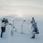 🎻❄️Concierto en el Ártico con instrumentos de hielo