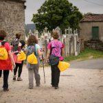  'ECOperegrinos' en el Camino de Santiago de Compostela