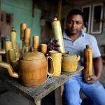 🌱 Creó botellas de bambú para terminar con el plástico
