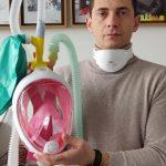 Convierte máscaras de buceo en Respiradores