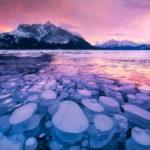 💧 Las peligrosas burbujas congeladas bajo el Lago Abraham