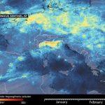 Coronavirus: Datos satelitales revelan que la Calidad del Aire mejora