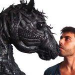 ♻️ El Arte de Crear con Neumáticos Reciclados: Ángel Cañas