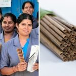 🌱Estas Mujeres fabrican 10.000 Pajitas con Hojas de Coco Caídas al día