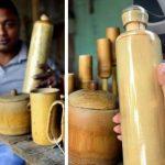 🌱 Creó Botellas Orgánicas de Bambú para Terminar con el Plástico